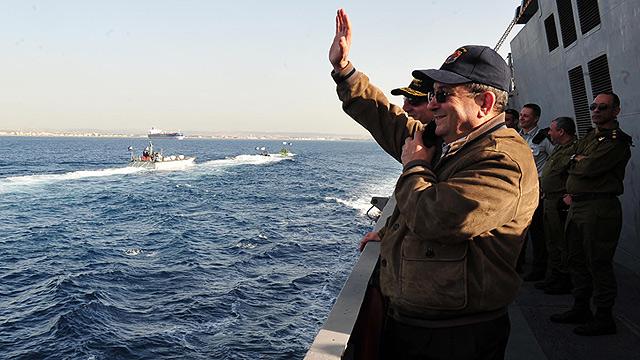 """שר הביטחון לשעבר ברק. גורם ביטחוני: """"אנחנו תמיד לוקחים בחשבון שמאזינים לנו"""" (צילום: אריאל חרמוני) (צילום: אריאל חרמוני)"""