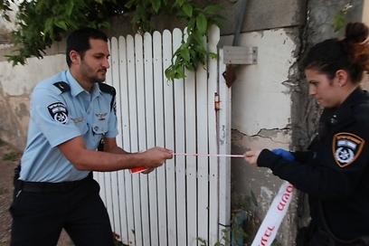 זירת האירוע בדרום תל אביב (צילום: מוטי קמחי) (צילום: מוטי קמחי)