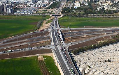 (צילום: רודי אלמוג, באדיבות חברת נתיבי ישראל) (צילום: רודי אלמוג, באדיבות חברת נתיבי ישראל)