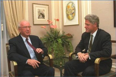 Rabin didn't like wearing a tie (Photo: GPO)
