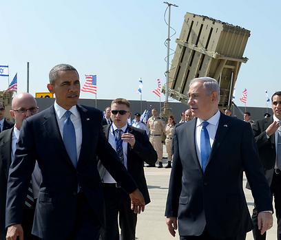 """ראש הממשלה ונשיא ארצות הברית (צילום: אבי אוחיון, לע""""מ)"""