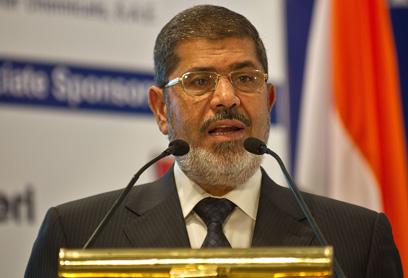 'Darkest ages.' President Morsi (Photo: AFP)