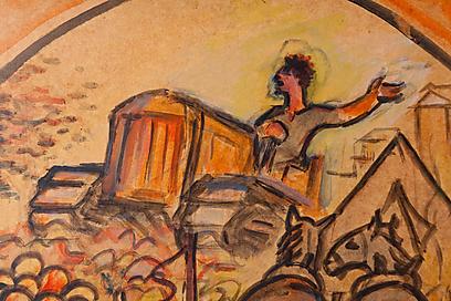 """""""העולים החדשים שהגיעו לקיבוץ, הרגישו שהם עצמם היו ביציאת מצרים"""". מתוך הגדה קיבוצית (צילום: באדיבות בית אבי חי ) (צילום: באדיבות בית אבי חי )"""