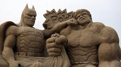 גיבורי הקומיקס: באטמן והענק הירוק (צילום: Gettyimages) (צילום: Gettyimages)