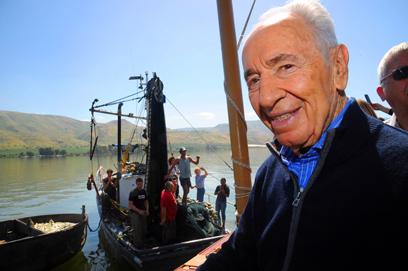 President Shimon Peres (Photo: Gil Eliyahu, Jenny)