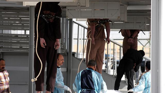 הוצאה להורג בכוויית (צילום: AFP) (צילום: AFP)