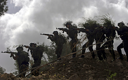 Palestinians train in Jenin (Photo: AP)