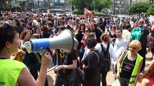 בואו איך שאתם רוצים למצעד, לבושים או לא (צילום: מוטי קמחי) (צילום: מוטי קמחי)