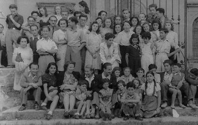 121 ילדים נאלצו להישאר באירופה. ילדי וילה אמה (צילום: באדיבות ארכיון הצילומים, בית לוחמי הגטאות)