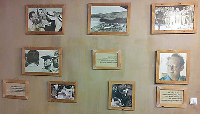 מטיילים וגם לומדים. המועדון הוא גם חדר הנצחה ליגאל אלון (צילום: זיו ריינשטיין)