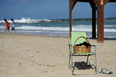 באזור זה עברה הטיילת הראשונה. חוף בוגרשוב (צילום: בני דויטש)