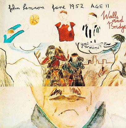 """מתוך הארכיון הפרטי. """"Walls and Bridges"""" של ג'ון לנון"""