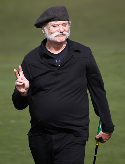 ביל מאריי. פעם גולף, תמיד גולף (צילום: MCT) (צילום: MCT)