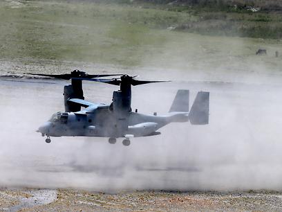 V-22 in action (Photo: AP)
