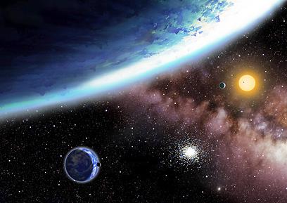 מבט אל החלל. מדע בדיוני שמתרומם מעל לטובים נגד רעים (צילום: AFP) (צילום: AFP)