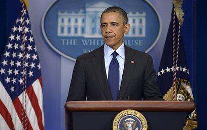 """""""פרק חשוב בטרגדיה הזאת"""". הודעת הנשיא אובמה (צילום: AFP) (צילום: AFP)"""