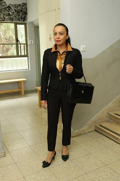 גם היא כאן. אוולין הגואל (צילום: רפי דלויה) (צילום: רפי דלויה)