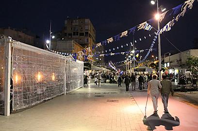 נתניה לפני ההחשכה (צילום: עידו ארז)