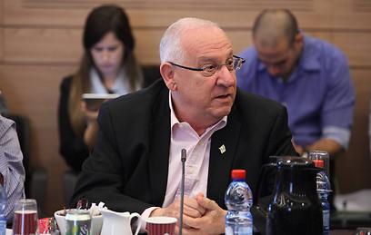MK Reuven Rivlin (Photo: Gil Yohanan)