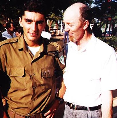 גנאדי דרוביצקי, במהלך הטירונות של בנו איגור ()