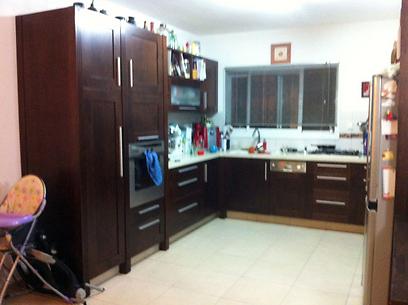 המטבח המיושן לפני השדרוג ()