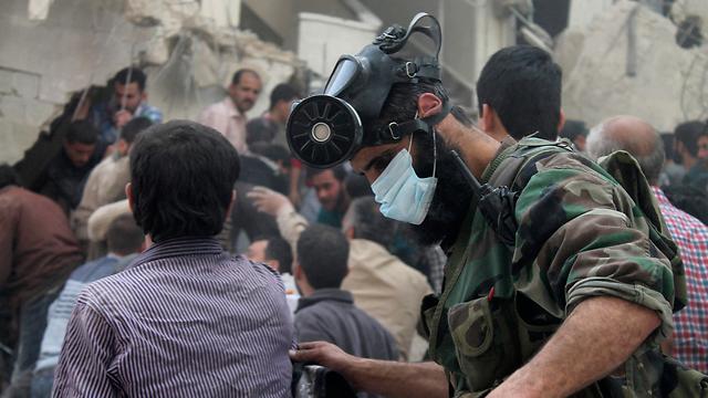 הנשק של אסד? חשש ממתקפה כימית בסוריה לפני שנתיים (צילום: רויטרס) (צילום: רויטרס)