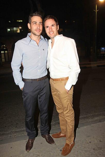 פורצי הדרך. אמיר פרישר גוטמן ובעלו ינאי  (צילום: ענת מוסברג) (צילום: ענת מוסברג)