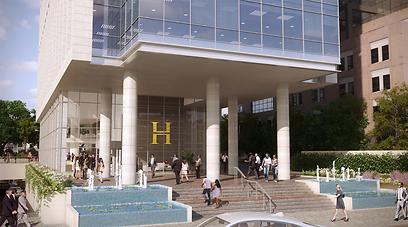 הדמיה של מגדלי רסיטל בתל-אביב (צילום הדמיה: view point)