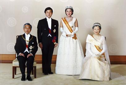 הנסיך נרוהיט ואשתו מסקו לאחר חתונתם, יוני 1993 (צילום: Gettyimages) (צילום: Gettyimages)