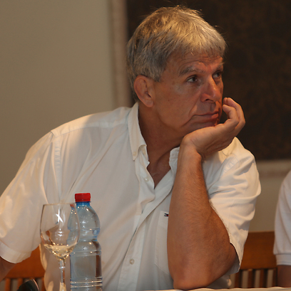 """יו""""ר איגוד הג'ודו, משה פונטי (צילום: אורן אהרוני) (צילום: אורן אהרוני)"""