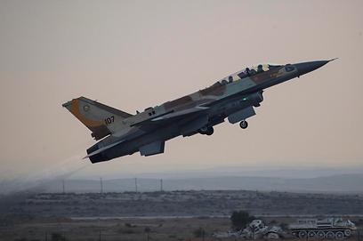 IAF attacks in Gaza, illustration (Photo: EPA) (Photo EPA)