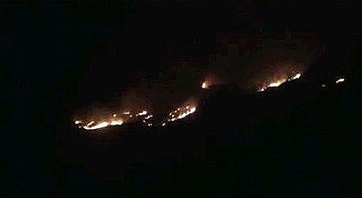 אזור התקיפה בדמשק (צילום: רויטרס) (צילום: רויטרס)