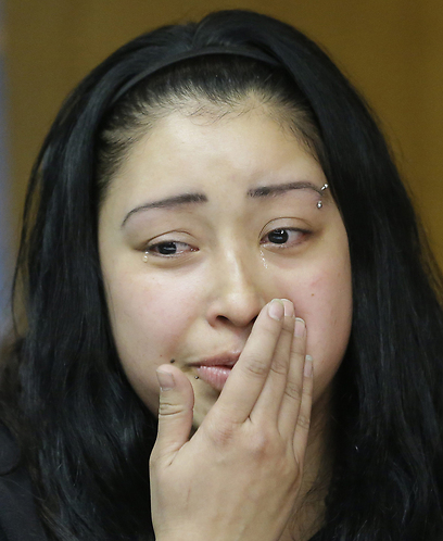 הבת חואנה. ראתה את המקרה הנורא  (צילום: AP) (צילום: AP)