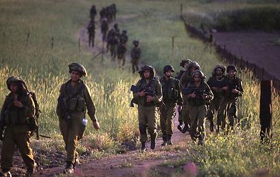 הגדרת הלוחם תשתנה. חיילים באימון (ארכיון) (צילום: EPA) (צילום: EPA)