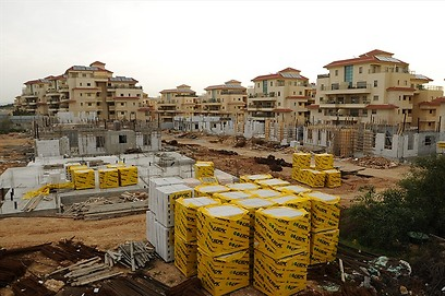 פרויקט חלומות זכרון יעקב בבנייה (צילום: אנצו)