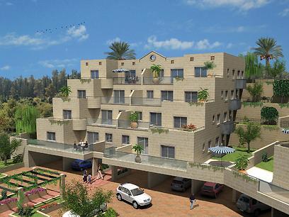 הדמיה של פרויקט דונה בפסגה בירושלים