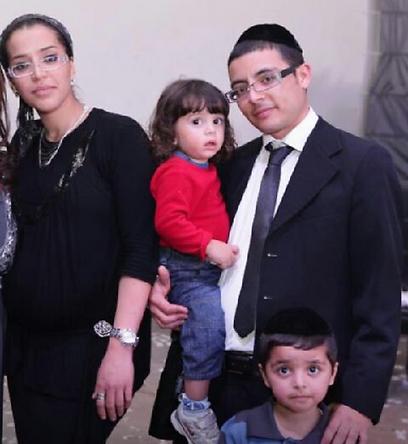 משפחת רביבו (צילום: באדיבות גואל אלמסי, מושב גימזו) (צילום: באדיבות גואל אלמסי, מושב גימזו)