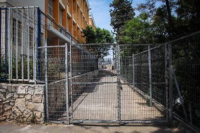 בית ספר יסודי גבריאלי בחיפה. אי שם למטה (צילום: אבישג שאר-ישוב) (צילום: אבישג שאר-ישוב)