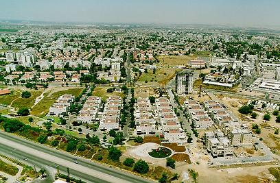 """מבט מלמעלה על שכונת """"פארק צפון"""" (צילום: באדיבות חברת אנטרייס) (צילום: באדיבות חברת אנטרייס)"""