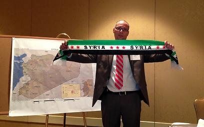 התמונה שפורסמה בעמוד הפייסבוק של אסד (צילום: יצחק בן-חורין) (צילום: יצחק בן-חורין)