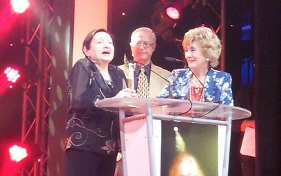 פרס מפעל חיים. דבורה קידר (צילום: מרב יודילוביץ') (צילום: מרב יודילוביץ')