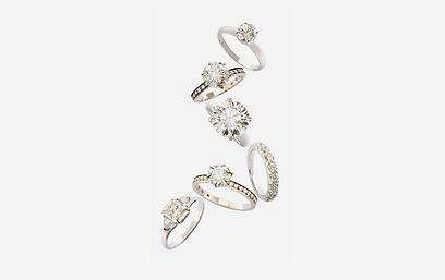 ה. שטרן. טווח מחירים לטבעות אירוסין: בין 2,877 ל-248,002 שקל (צילום: דיוויד וילס) (צילום: דיוויד וילס)
