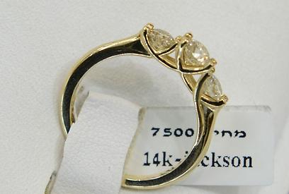 יותר יהלומים: המחיר עולה. 7,500 שקל (צילום: ירון ברנר) (צילום: ירון ברנר)