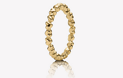 פנדורה. טבעת נישואין ב-1,760 שקל (צילום: יוהן פטרסון) (צילום: יוהן פטרסון)