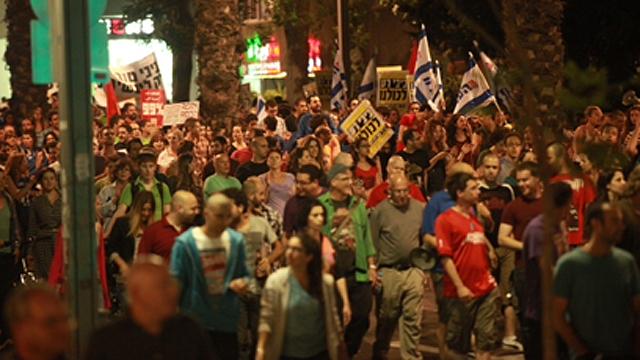 המחאה החברתית לצדק חברתי (צילום: מוטי קמחי) (צילום: מוטי קמחי)