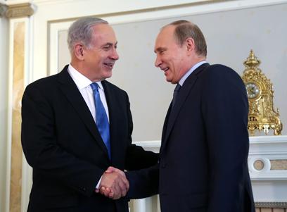 מאמצי ישראל עלו בתוהו. נתניהו ופוטין (צילום: EPA) (צילום: EPA)