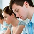 """""""נפעל לחיזוק תחום החינוך"""". תלמידים בבחינה צילום: shutterstock"""