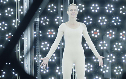 """רובין רייט ב""""כנס העתידנים"""". מותג או דמות? (צילום: ברידג'יט פולמן) (צילום: ברידג'יט פולמן)"""