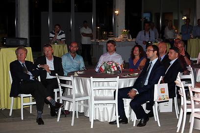 השגרירים בערב הגאלה (צילום: אורן אהרוני) (צילום: אורן אהרוני)