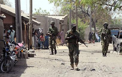 מבקשים לעצמם את השליטה על צפון-מזרח המדינה. כוחות צבא ניגריה (צילום: AFP) (צילום: AFP)